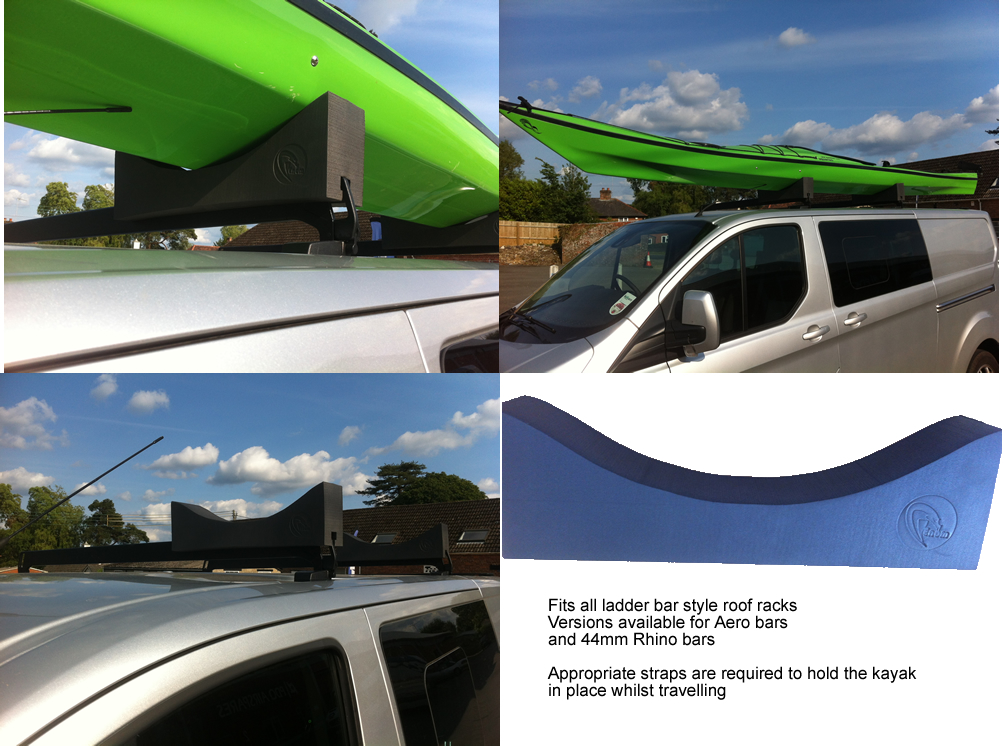 Venom Kayak Roof Rack Carrier