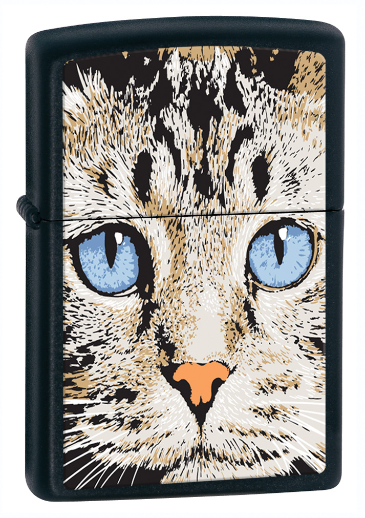 Zippo Blue Eyed Cat Lighter