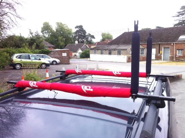 Venom Roof Rack Pads 36cm wide